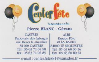 logo center fete castres